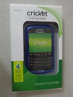 Cricket Blackberry Curve 9350 Soft Touch Shield Blue Case Sku Cpc1730 Brand