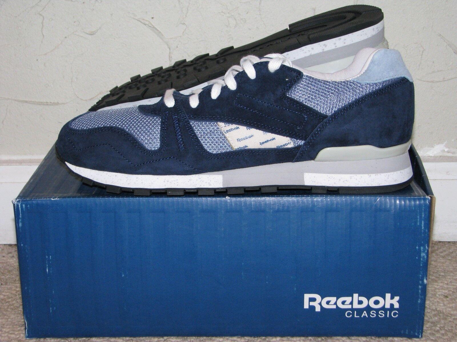 Garbstore x Reebok Phase II 2 Navy bluee   Purple Mens Size 9.5 DS NEW  M43018