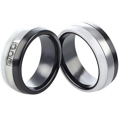 Eheringe Verlobungsringe Trauringe aus Keramik und Ring Lasergravur   3043