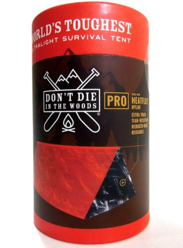Ne pas mourir dans les bois World/'s Best Ultralight Survival Tente 2 Personne Shelter