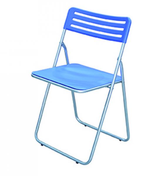 SEDIE SEDIA PIEGHEVOLE IN ACCIAIO E ABS confezione 4 sedie