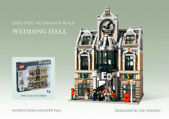 Moc Lego 10211 Grand Emporium Alternative Build Instructions Ebay