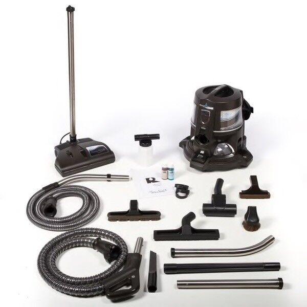 Rainbow E-2 Platinum blueeeeeee Vacuum Cleaner With Attachments 2-speed