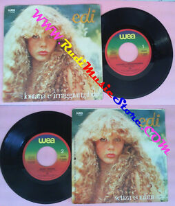 LP-45-7-039-039-EDI-Lontana-e-irraggiungibile-Senza-confini-1979-italy-WEA-no-cd-mc-vhs