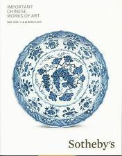 SOTHEBY'S IMPORTANT CHINESE CERAMICS BRONZES JADES FURNITURE LACQUER Catalog 15