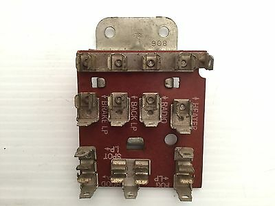 sell collection on ebay! 1977 corvette fuse box 1956 1957 corvette underdash fuse block stamped \