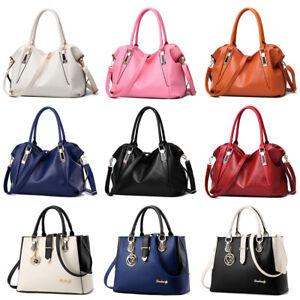 Women-Messenger-Handbag-Shoulder-Bag-Ladies-PU-Tote-Satchel-Crossbody-Purse