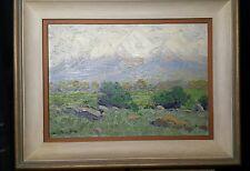 Charles Partridge Adams original oil painting