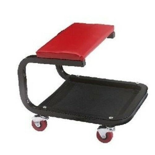 Rolling Mobile Shop Creeper Mechanic's Padded Stool Work Seat Workseat Chair