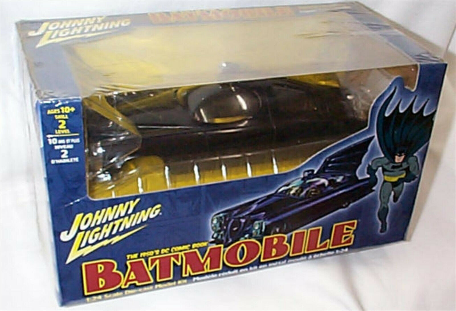 Batmobile The 1950'S DC Comic Book 1-24 Scale Model Kit New in Box 6903
