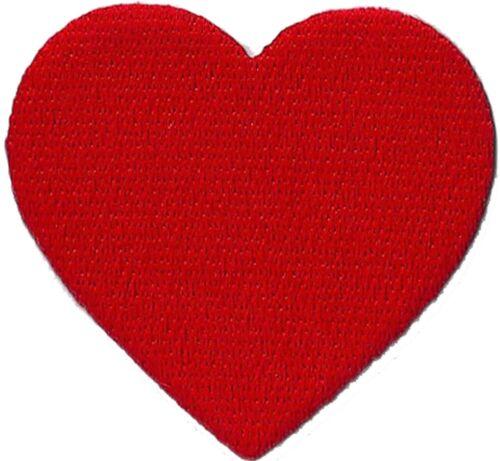 Patche écusson transfert Coeur patch thermocollant brodé