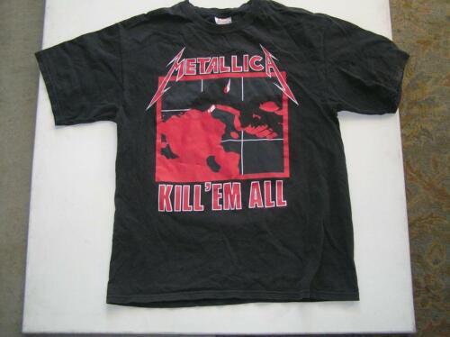 Vintage Metallica Metal Up Your Ass Electric Chair 80s tee  megadath antrax iron maiden slayer tool tour shirt