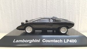 1 64 Cm S Lamborghini Countach Lp400 Black W Detailed Engine