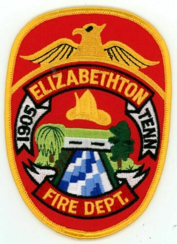 ELIZABETHTON TENNESSEE TN FIRE DEPARTMENT NEW PATCH RESCUE POLICE SHERIFF