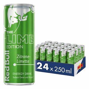 Red Bull Energy Drink Zitrone Limette 24x 250 ml Ohne Pfand Dosen MHD: 24/08/20 - Berlin, Deutschland - Red Bull Energy Drink Zitrone Limette 24x 250 ml Ohne Pfand Dosen MHD: 24/08/20 - Berlin, Deutschland