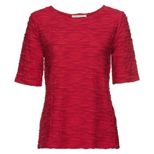 Monari modisches Damen Shirt in toller Fancy-Qualität in Rot