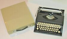 Vintage Sears Metal Manual Portable Typewriter Nice Shape Works Made In Japan