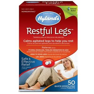 Hyland-039-s-Restful-Legs-Tablets-50-ea-Pack-of-2