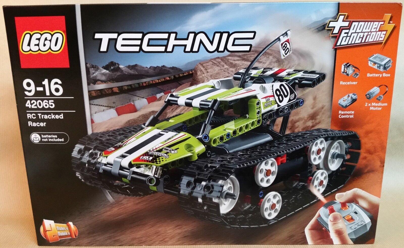 LEGO . Technic 42065 . Le bolide sur chenilles télécommandé