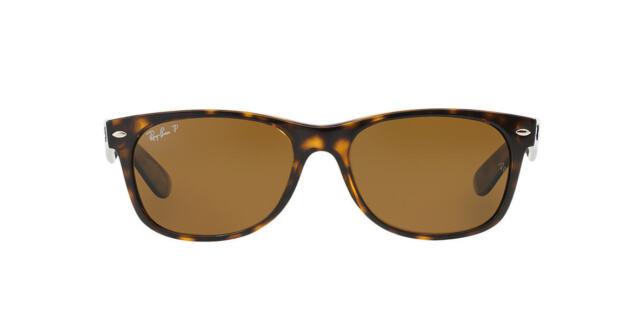 2aa3d394c5c New Ray-Ban Wayfarer Polarized Sunglasses RB2132 902 57 Size 55