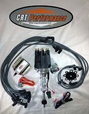 dual point holley distributor ford y block 272 292 312 ebay rh ebay com Ford Truck Distributor Wiring Ford Electronic Ignition Wiring