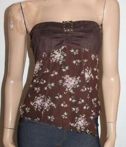 COTTON-ON-Designer-Choc-Vita-Boob-Tube-Top-Size-M-BNWT-F106