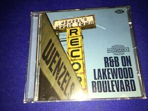 Various-R-amp-B-On-Lakewood-Boulevard-CD-Album-Rockabilly-AMO