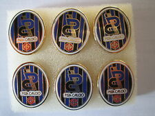 lotto 6 pins lot AC PISA FC club spilla football futbol calcio pins spille