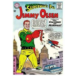 Superman-039-s-Pal-Jimmy-Olsen-1954-series-77-in-VG-condition-DC-comics-9i