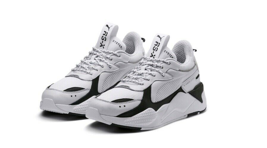edeff32ee6d8a PUMA CORE MEN S WHITE SNEAKERS HI-TOP 36966601 RS-X nnyypz5357-Athletic  Shoes