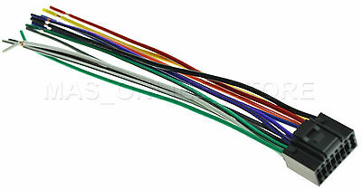 WIRE HARNESS FOR JVC KD-R610 KDR610 *PAY TODAY SHIPS TODAY*   eBayeBay