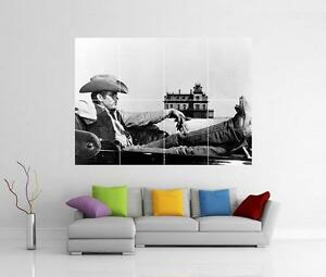 Image is loading JAMES-DEAN-COWBOY-REBEL-WITHOUT-A-CAUSE-GIANT- & JAMES DEAN COWBOY REBEL WITHOUT A CAUSE GIANT WALL ART PHOTO PIC ...
