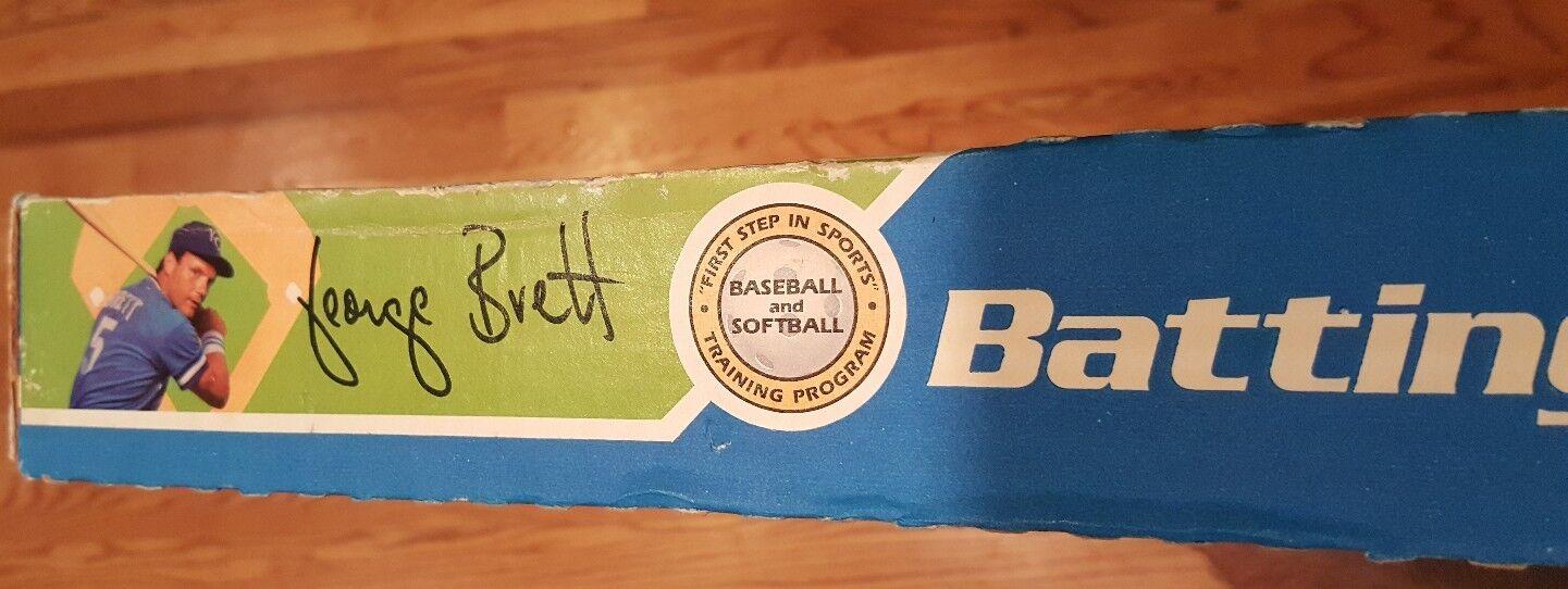 Vintage NOS George Brett Batting Tee 1983 Set 1983 Tee by Cosum Schaper Baseball NEW e4215b