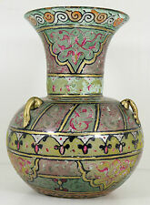 Lámpara De Vidrio Fino Antiguo Islam Mezquita Siria mameluca