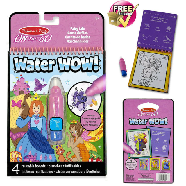 Melissa & Doug on The Go Water WOW Color-reveal Pad Activity Book ...