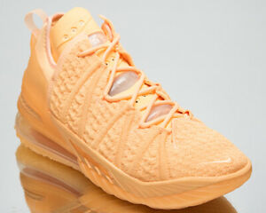 Nike Lebron XVIII Homme Melon Tint Basketball Chaussures De Sport Baskets