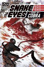 G.I. Joe Snake Eyes Agent Of Cobra #4 (NM)`15 Costa/ Villanelli