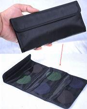 Sac Wallet Bag Case 6 Poche pour 6x 25-77mm UV MCUV CPL ND STAR Objectif Filtre