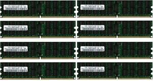 8x-8gb-64gb-RAM-IS-ECC-Reg-667-MHz-ddr2-pc2-5300p-for-IBM-X-Series-x3850-x3950-m2