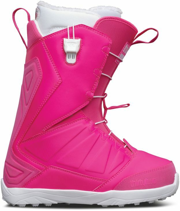 2017 NIB WOMENS THIRTYTWO LASHED FT SNOWBOARD BOOTS  7 Pink