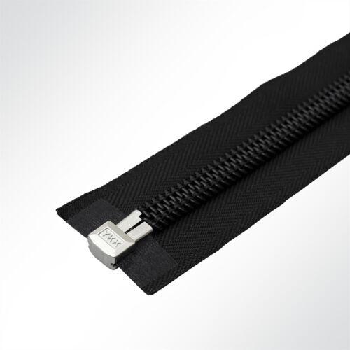 YKK® 10C Reißverschluss Zeltreisser Spiralreißverschluss teilbar 260cm schwarz..