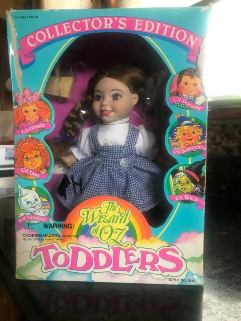 Vintage 1993 The Wizard of Oz Collectors Edition Lil  Dorothy Doll