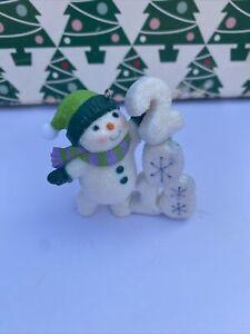 Frosty Fun Decade 2018 Christmas Hallmark Keepsake Ornament New In Box