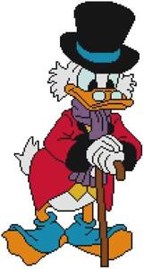 Scrooge Mcduck Christmas.Details About Cross Stitch Craft Pattern Donald Duck Scrooge Mcduck Christmas Grinch Business
