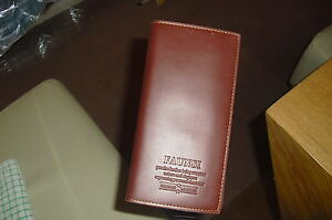 New And Sealed Herren-accessoires Mena Brown Designer Leather Wallet From Faunsi