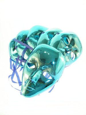 6x Maske Gesichtsmaske Wüste Violett Wüstenboden Look Maskenball