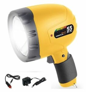 PROJECTOR HALOGEN RECHARGEABLE 1 MILIONE CANDEL TORCH CAMPING TO BORNEO MILITARY