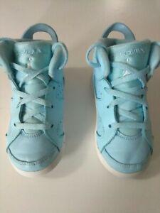 Details about Nike Air Jordan Shoes Light Blue/White 10c