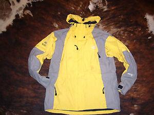 schön Damen North Face Gore Tex Oberbekleidung Jacke Gelb