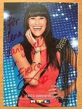 Erica Greenfield AK RTL DSDS Autogrammkarte original signiert